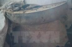 Un tambour de bronze de deux mille ans découvert à Thanh Hoa