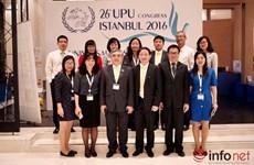 Le Vietnam élu au Conseil administratif de l'UPU