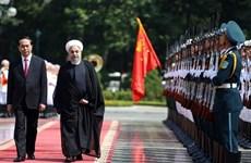 La presse iranienne parle de la visite d'Etat d'Hassan Rohani au Vietnam