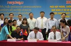 Renforcement de la lutte contre le VIH à la frontière Vietnam-Laos