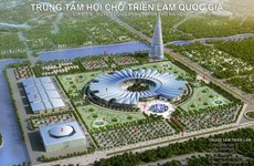 Hanoi: construction du plus grand centre des expositions d'Asie
