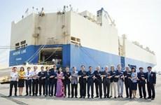 Le premier roulier mouille au port de Tân Vu – Hai Phong