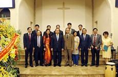Voeux à l'antenne hanoienne de l'Église évangélique du Vietnam