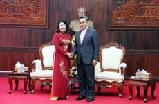 Vietnam-Laos : coopération entre les deux Fronts de la Patrie