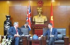 Le Royaume-Uni affirme son soutien à l'ALE UE-Vietnam