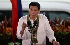 Le président des Philippines en visite en Chine