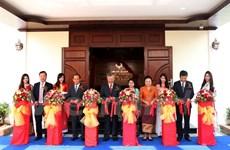 Inauguration du nouveau siège du Consulat général du Vietnam à Luang Prabang