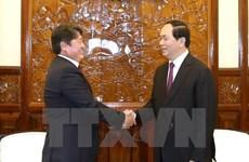 Tran Dai Quang reçoit le gouverneur de Nagano et l'ambassadeur mongol