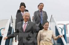 Le président du Myanmar entame sa visite d'Etat au Vietnam