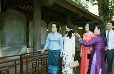 Les épouses des dirigeants à la découverte de Hanoi