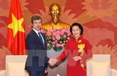 La présidente de l'AN Nguyen Thi Kim Ngan reçoit le ministre italien de la Justice