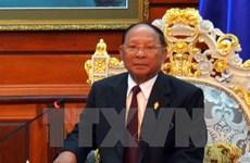 Une délégation du FPV de HCM-Ville en visite au Cambodge