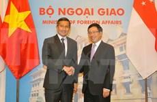 Approfondissement des relations de partenariat stratégique Vietnam-Singapour