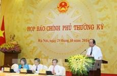 La conférence de presse périodique du gouvernement éclaircit plusieurs questions pressantes
