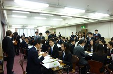 Programme d'échange entre étudiants vietnamiens et entreprises japonaises d'Osaka