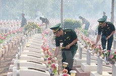 Poursuite des recherches des restes des volontaires tombés au Cambodge