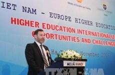 Ouverture du forum sur l'enseignement supérieur Vietnam-Europe