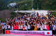 Ha Giang : inauguration d'un pont financé par le Japon