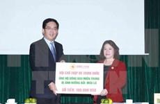 Aide de la Croix-Rouge chinoise pour les populations sinistrées du Centre