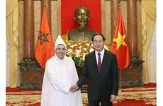 Le président du Vietnam reçoit de nouveaux ambassadeurs