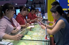 Ouverture de la Foire internationale de la bijouterie du Vietnam 2016