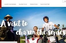 Un site web de promotion du tourisme du Vietnam à l'étranger
