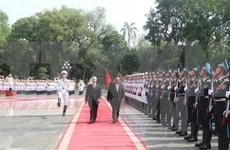 Le chef du PCV au Laos pour consolider et approfondir les liens
