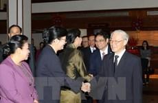 À Bolikhamxay, le chef du PCV salue les liens excellents avec le Laos