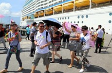Le port de Chân Mây accueille le paquebot de luxe Ovation of the Seas