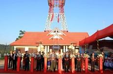 Le Vietnam remet la Télévision de la province d'Oudomxay au Laos
