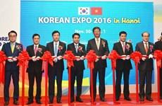 Exposition « Korea Expo 2016 » à Hanoi