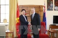 Le vice-Premier ministre Pham Binh Minh en visite officielle en Nouvelle-Zélande
