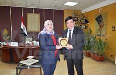 Vietnam-Egypte promeuvent leur coopération dans la radiodiffusion