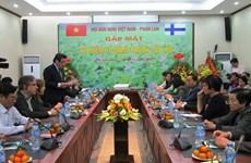 Renforcement de la coopération et de l'amitié Vietnam-Finlande