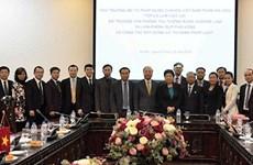 Vietnam-Laos : échange d'expériences dans l'élaboration et l'application des lois