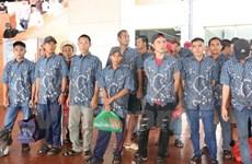 39 pêcheurs arrêtés en Indonésie rapatriés au Vietnam