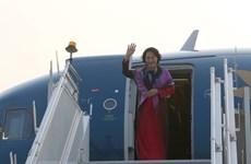 Ce qu'il faut retenir de la tournée en Inde et aux EAU de la présidente de l'AN