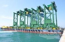 Doosan Vina exporte des grues portiques à roues de caoutchouc en Arabie Saoudite