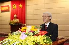 Nguyen Phu Trong travaille avec le Département général du renseignement de la défense