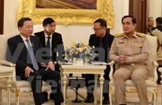 Le ministre de la Sécurité publique To Lam en visite en Thaïlande