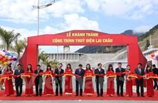 Inauguration de la centrale hydroélectrique de Lai Châu