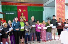 La vice-présidente Dang Thi Ngoc Thinh à Quang Ngai et Quang Nam