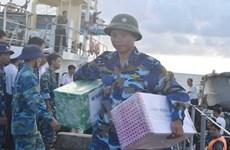 Plus de 500 tonnes de marchandises du Têt pour le district insulaire de Truong Sa