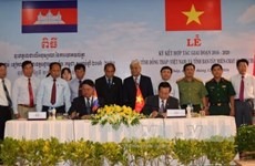 Dong Thap et Banteay Meanchey (Cambodge) signent un nouvel accord de coopération