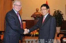 Le vice-PM Pham Binh Minh reçoit le nouvel Ambassadeur de l'Australie
