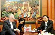 Coopération Vietnam-Australie dans le commerce agricole