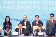 Le PM exhorte Vinh Phuc à devenir un pôle de développement