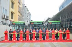 Hanoi : Inauguration de la première ligne de bus BRT Kim Ma - Yên Nghia