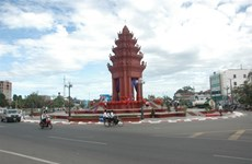 Inauguration des monuments de l'amitié Vietnam-Cambodge et de la Liberté au Cambodge