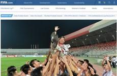 La FIFA félicite les performances du football vietnamien en 2016